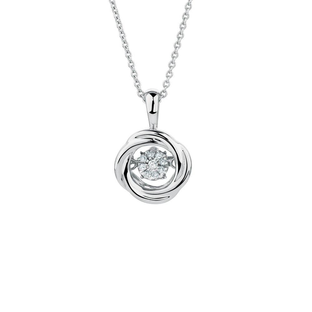 Everlight pendant with diamonds in sterling silver michael hill everlight pendant with diamonds in sterling silver click to zoom mozeypictures Choice Image